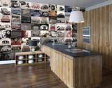 Creative Collage Volkswagen Tapettijuliste