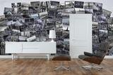 Creative Collage New York Cities Mural de papel de parede