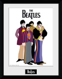 The Beatles- Yellow Submarine Varicatures Samletrykk