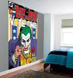 Batman Joker Wall Mural Vægplakat