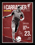 Liverpool- Carragher Retro Collector-tryk