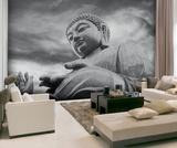 Buddha Mural Wandgemälde