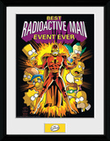 The Simpsons- Radioactive Man Stampa del collezionista