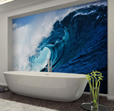 Surf Wave Wall Mural Behangposter