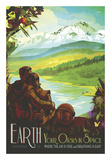 Terra Poster di  Vintage Reproduction