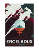 Enceladus Posters av  Vintage Reproduction