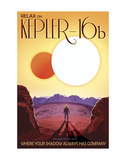 Kepler-16b Posters av  Vintage Reproduction