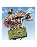 Suzy Cue's Game Room Plakater af Anthony Ross