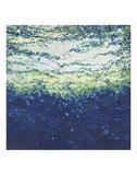 Rising Indigo Sea Kunst av Margaret Juul