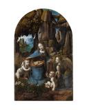 Virgin of the Rocks, 1503-1506 Prints by Leonardo Da Vinci