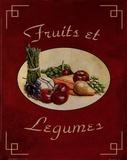 Fruits Et Legumes Poster af Catherine Jones