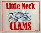 Little Neck Clams Plakat af Catherine Jones