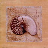 Meeresschätze II Poster von Janet Kruskamp