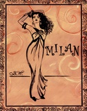 Milan Posters par Shari White