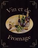 Vin Et De Fromage Plakater af Catherine Jones