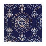 Delft Blue Pattern 4 Poster di Hope Smith