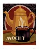 Mocha Prints by Betty Whiteaker