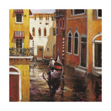 Venice Afternoon Poster af Brent Heighton