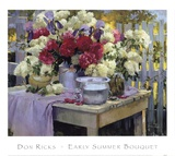 Early Summer Bouquet Print by Don Ricks