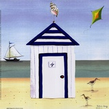 Maison de plage4 Poster par Katharine Gracey