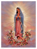 Our Lady Of Guadalupe Poster von Dona Gelsinger