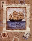 Ship To Shore I Kunstdrucke von Lisa Ven Vertloh