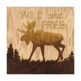 Wild and free (Libre y salvaje) Láminas por Arnie Fisk