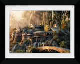 Lord Of The Rings- Leaving Rivendell Reproduction encadrée pour collectionneurs