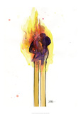 Love Burns 1 Posters af Lora Zombie