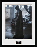 Batman Vs. Superman- Batman Outside Batmobile Collector Print