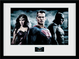 Batman Vs. Superman- Heroic Trinity Collector Print