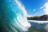 Blue Ocean Wave Fotografisk trykk av  EpicStockMedia