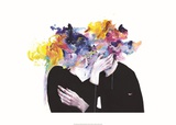 Intimacy on Display Giclée-tryk af Agnes Cecile