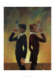The Duel Stampe di Aaron Jasinski