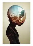 Space Cadet Kunstdrucke von Hidden Moves