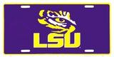 LSU Tigers Placa de lata
