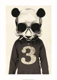 Panda No.3 Kunstdrucke von Hidden Moves