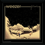 Weezer - Pinkerton Framed Album Art Reproduction encadrée pour collectionneurs