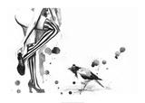 White Stripes Art by Lora Zombie