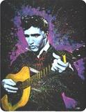 Young Elvis Plaque en métal
