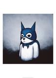 Bat Bear Poster von Luke Chueh