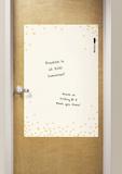 Confetti Cream Dry Erase Messenger Board Adesivo de parede