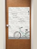 Enjoy the Ride Dry Erase Messenger Board Adesivo de parede