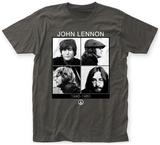 John Lennon- Portrait Grid T Shirts