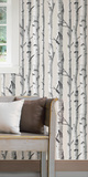 Birch Tree Peel & Stick Wallpaper Papel adhesivo de quita y pon