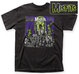 The Misfits- Earth A.D. (Front/Back) T-skjorte