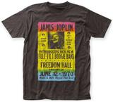Janis Joplin- Freedom Hall Poster T-Shirts