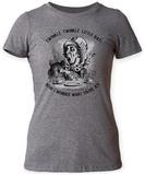 Women's: Alice In Wonderland- Mad Hatter Twinkle Twinkle T-Shirts