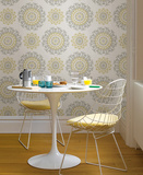 Suzani Floral Peel & Stick Wallpaper Ablösbare Tapete