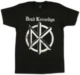 Dead Kennedys- Distressed Gothic Logo Vêtements